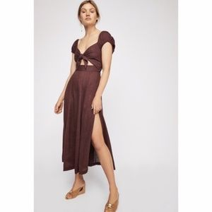 Free People The Getaway Midi Dress